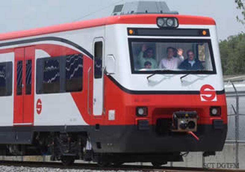 El tren Suburbano 3 irá de Chalco a Nezahualcóyotl.  (Foto: Cortesía SCT)