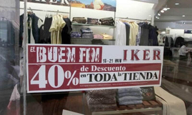 El Buen Fin se realizará del 16 al 19 de noviembre próximo.  (Foto: Notimex)