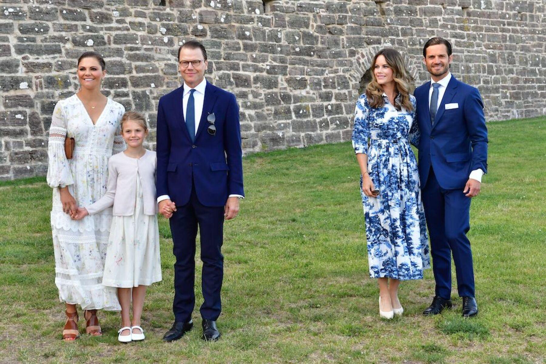 Crown Princess Victoria of Sweden birthday celebrations, Borgholm, Sweden - 14 Jul 2020
