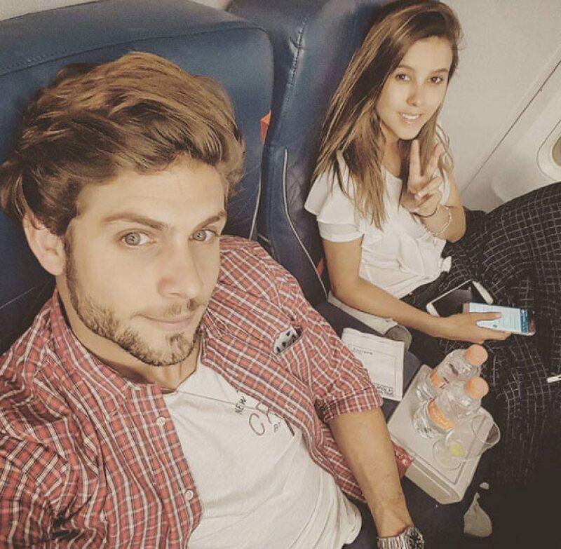 Paulina Goto y Horacio Pancheri ya están en Nueva York.