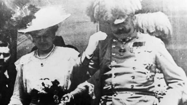 archiduque de austria y su esposa sophia