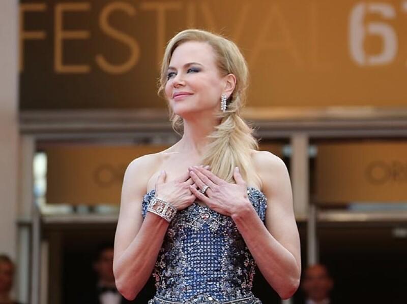 La famosa actriz reconoce que actuar como la princesa de Mónaco fue un gran reto, además de una oportunidad única en su carrera.