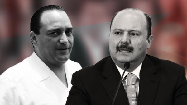 Roberto Borge y César Duarte