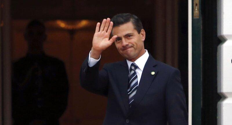 El ahora presiente de México fue elegido en 2012.