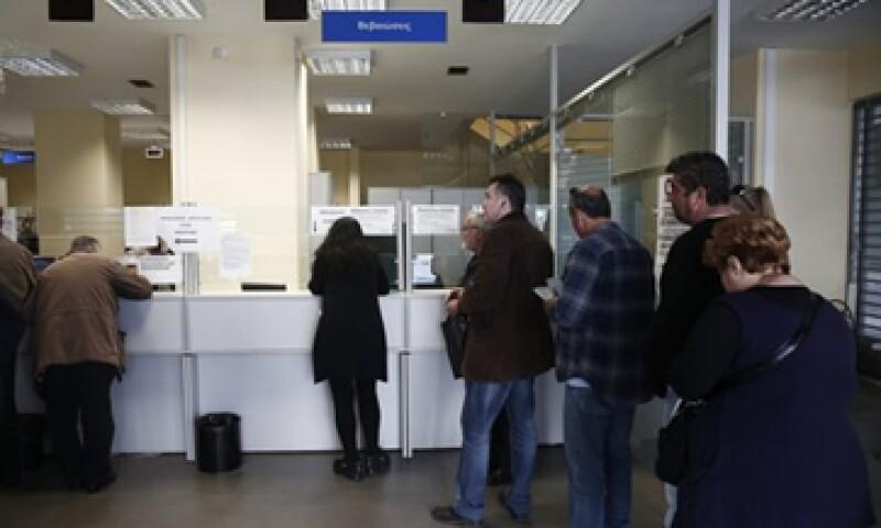 La tasa de desempleo en Grecia se ha triplicado desde 2009. (Foto: Archivo)