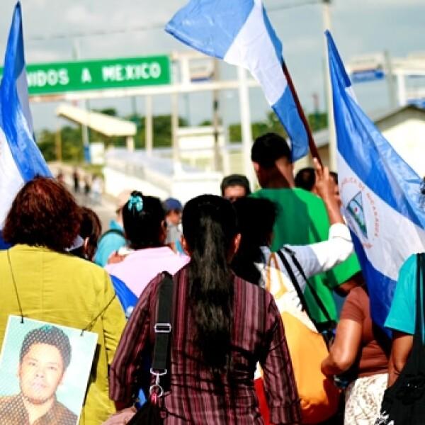 Llega a México la Caravana de madres de migrantes centroamericanas 5