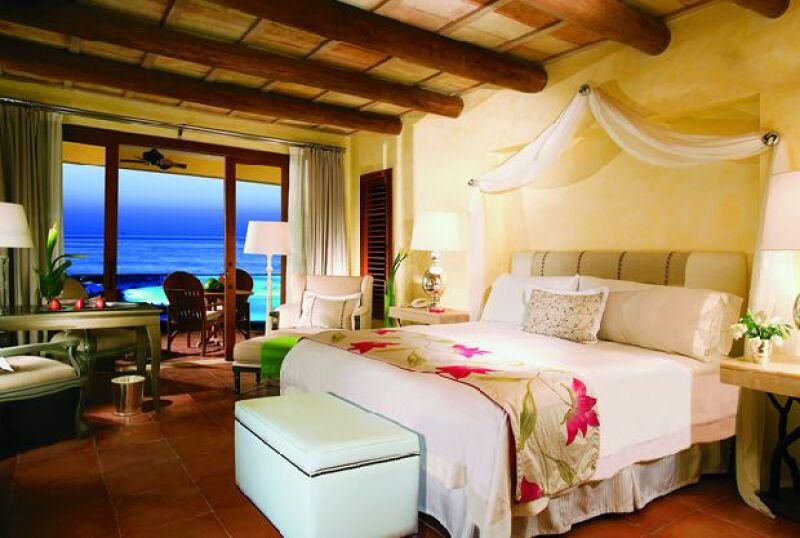 La vista de todas las habitaciones es hacia el mar de la Riviera nayarita.