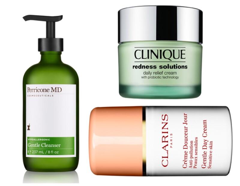 Procura usar productos hipoalergénicos para piel sensible.