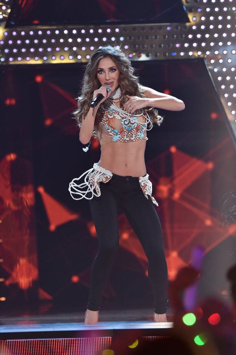 Radiante y más sexy que nunca, la cantante de 32 años logró ser todo un éxito durante su presentación, la cual fue el cierre del evento.