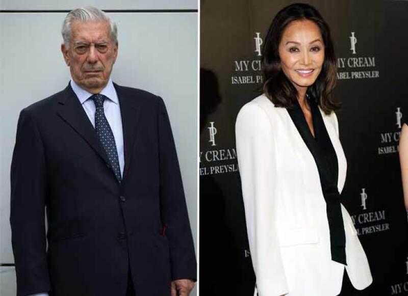 Mario Vargas Llosa fue visto con la una socialité y modelo filipina almorzando en Madrid.