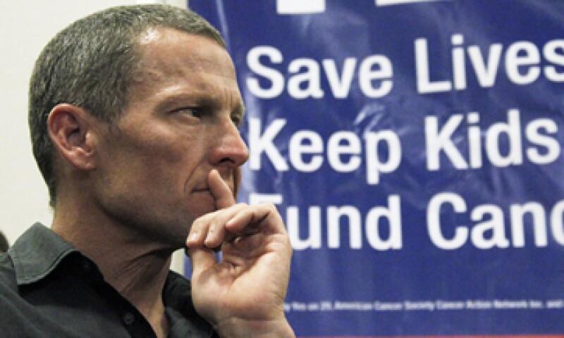 Lance Armstrong admitió en enero haber usado drogas estimulantes después de negarlo durante años. (Foto: AP)