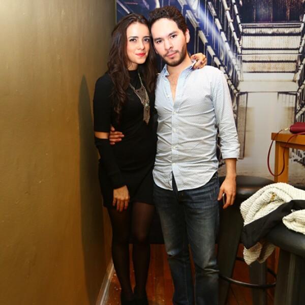 Andrea Iza y Pedro Rosales