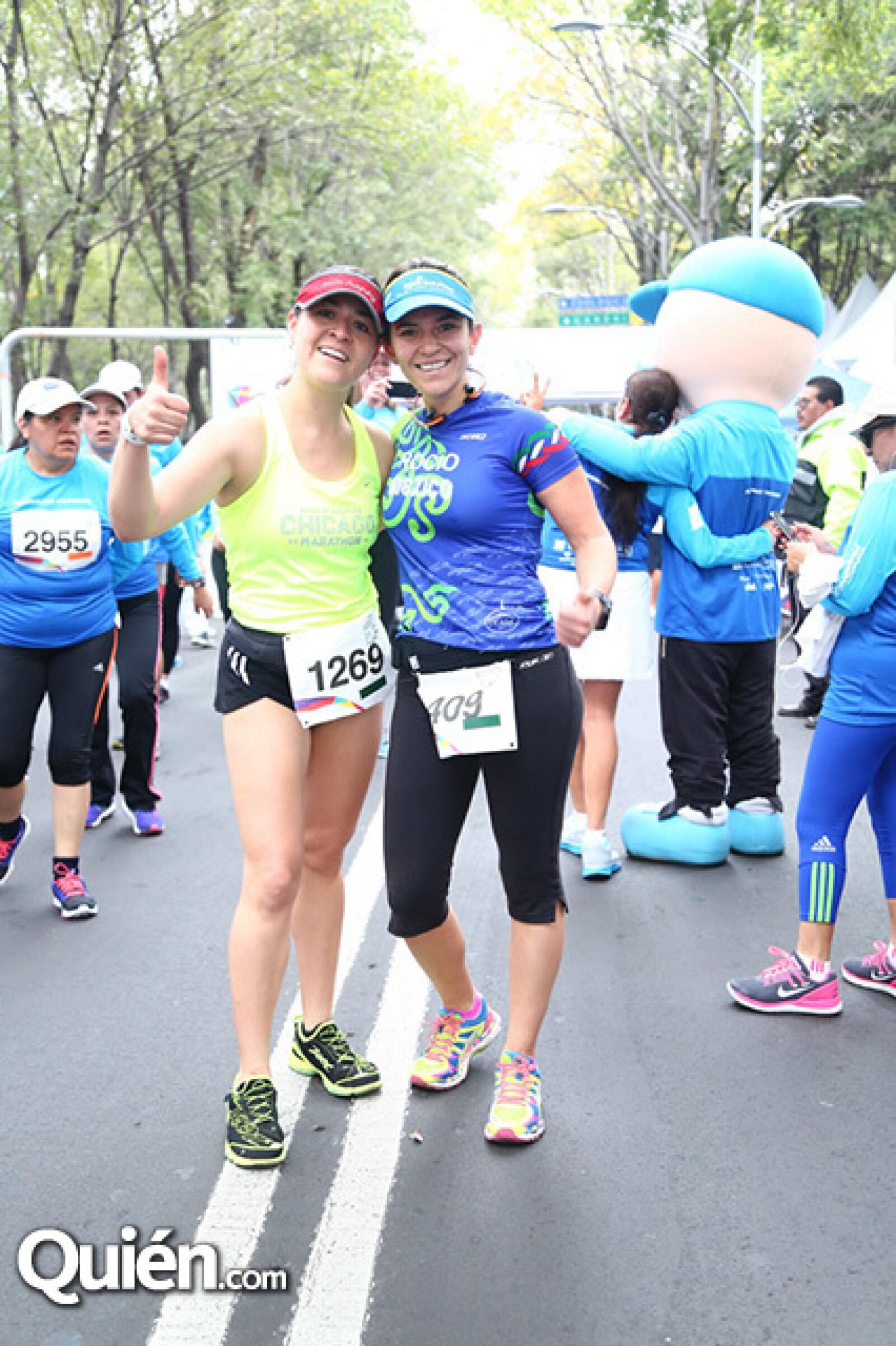 Beatriz Escobedo y Rocío Rocha
