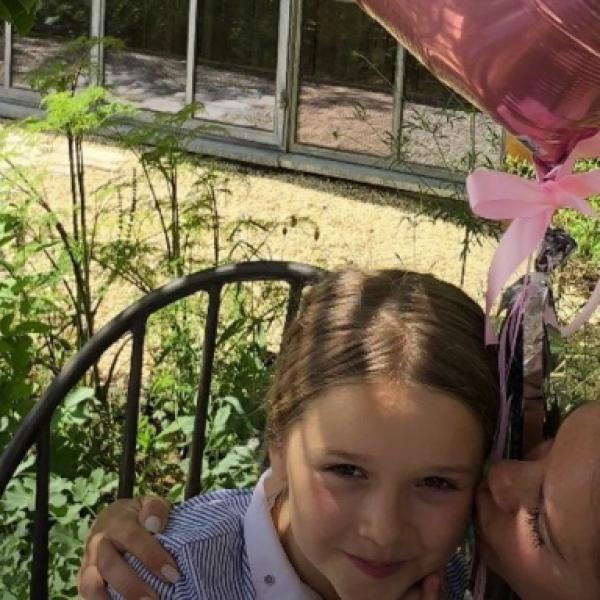 La pequeña celebró su cumpleaños número 7