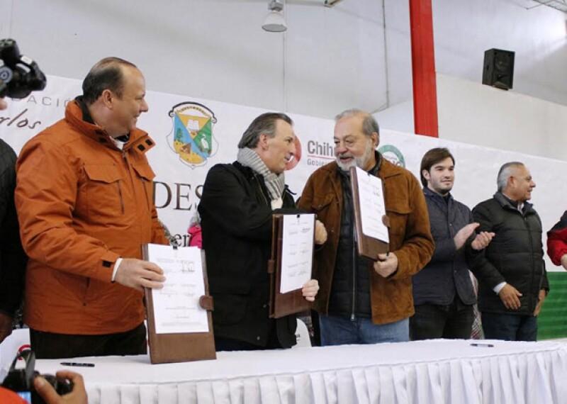 José Antonio Meade, Carlos Slim Helú.