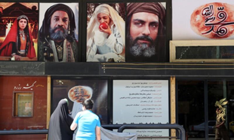 La cinta 'Mahoma' se estrenó en cines de todo Irán. (Foto: AFP )