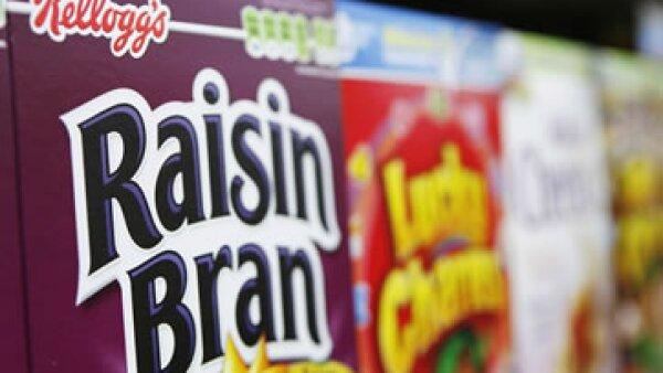Las ventas de Kellogg en su negocio de alimentos para el dsayuno, cayeron 2.2% en el tercer trimestre del año. (Foto: Reuters)
