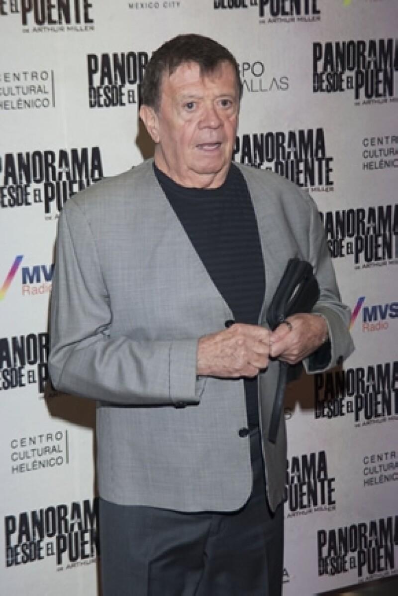 Xavier López lleva 57 años interpretando a su famoso personaje y 44 años al aire con su show `En familia con Chabelo´.