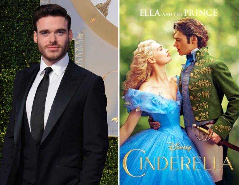 Richard Madden dando vida al principe de Cinderella