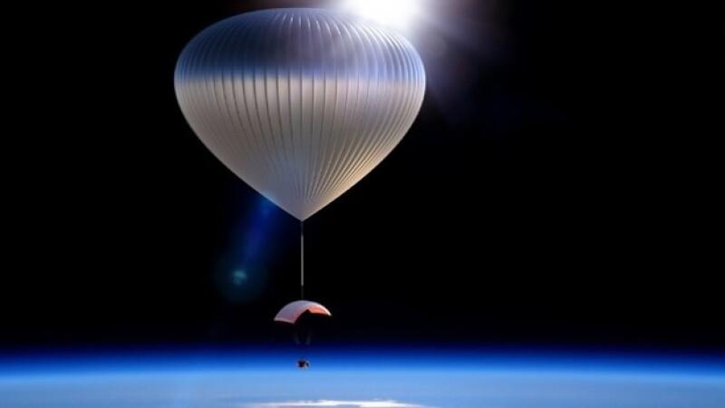 Viajes al espacio en globos de gran altitud podrían ser posibles en los próximos años