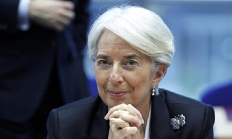 La jefa del Fondo Monetario Internacional forjó su 'resistencia política' en su adolescencia, cuando practicó la rígida disciplina del nado sincronizado. (Foto: Reuters)