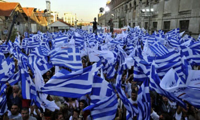 La UE ya se sopesa la posibilidad de que Grecia deje la zona del euro aunque pueda formar un Gobierno de coalición. (Foto: AP)