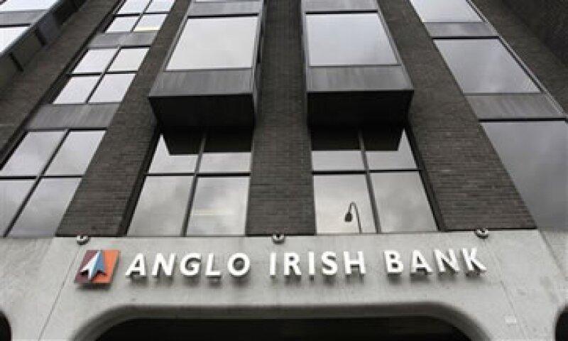 El colapso del banco fue sinónimo de la caída de la economía irlandesa.  (Foto: AP)