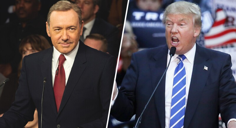 Frank Underwood vs Donald Trump