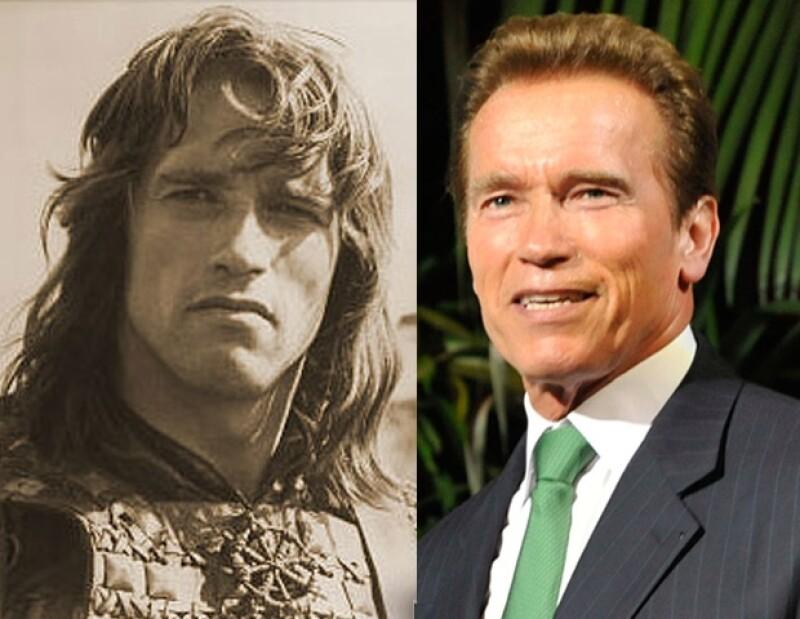 El ex gobernador de California tuvo que mejorar el aspecto de su rostro para destacar en el mundo de los espectáculos.