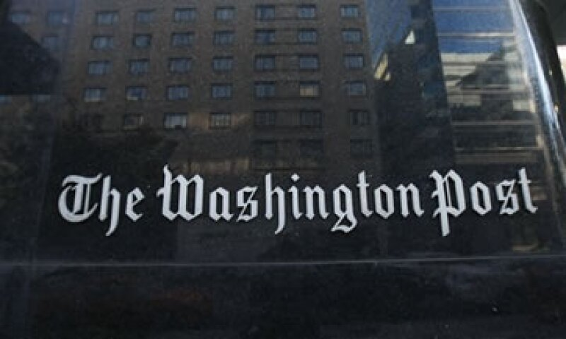 Los ingresos del Washington Post cayeron 13% a 1,030 mdd. (Foto: AP)