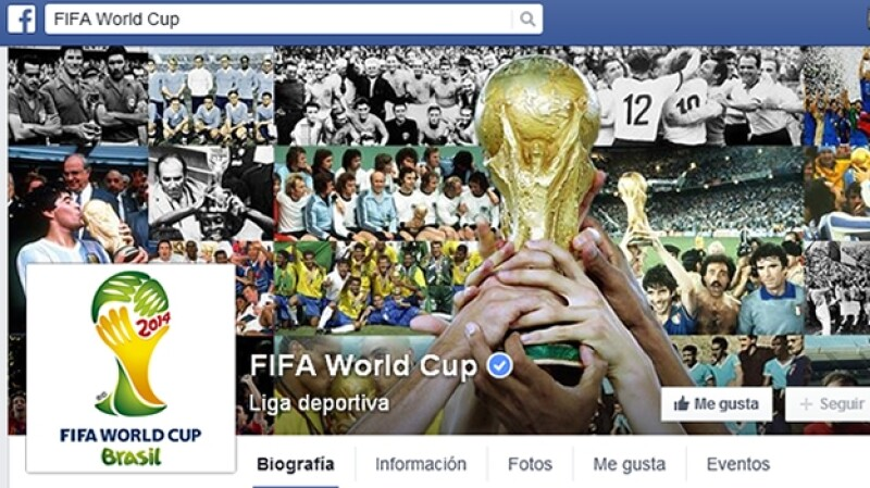 FIFA, Copa Mundial, World Cup, Facebook, fan page
