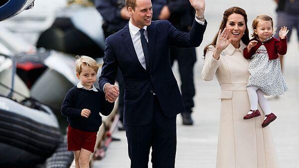 Los Duques de Cambridge se despiden de Canadá