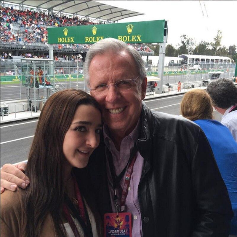 """María José, la hija menor del conductor, le dedicó un mensaje tras anunciarse su salida de """"El Noticiero""""."""
