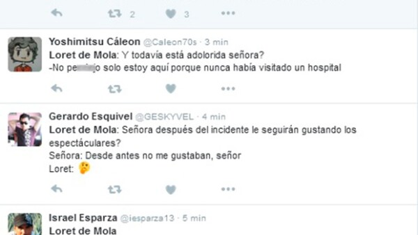 El periodista Carlos Loret de Mola se ha convertido en trending topic tras entrevistar a la mujer que sobrevivió a la caída de un espectacular en Metepec.