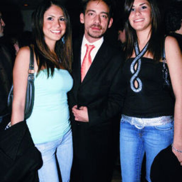 Paola Casale, René Ortiz, Diana Larrea
