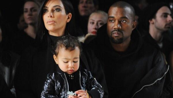 Kim Kardashian, Kanye y North West