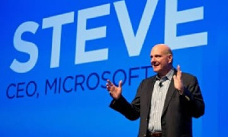 Steve Ballmer dijo a accionistas que Microsoft está realizando un giro fundamental.  (Foto: Cortesía Fortune)