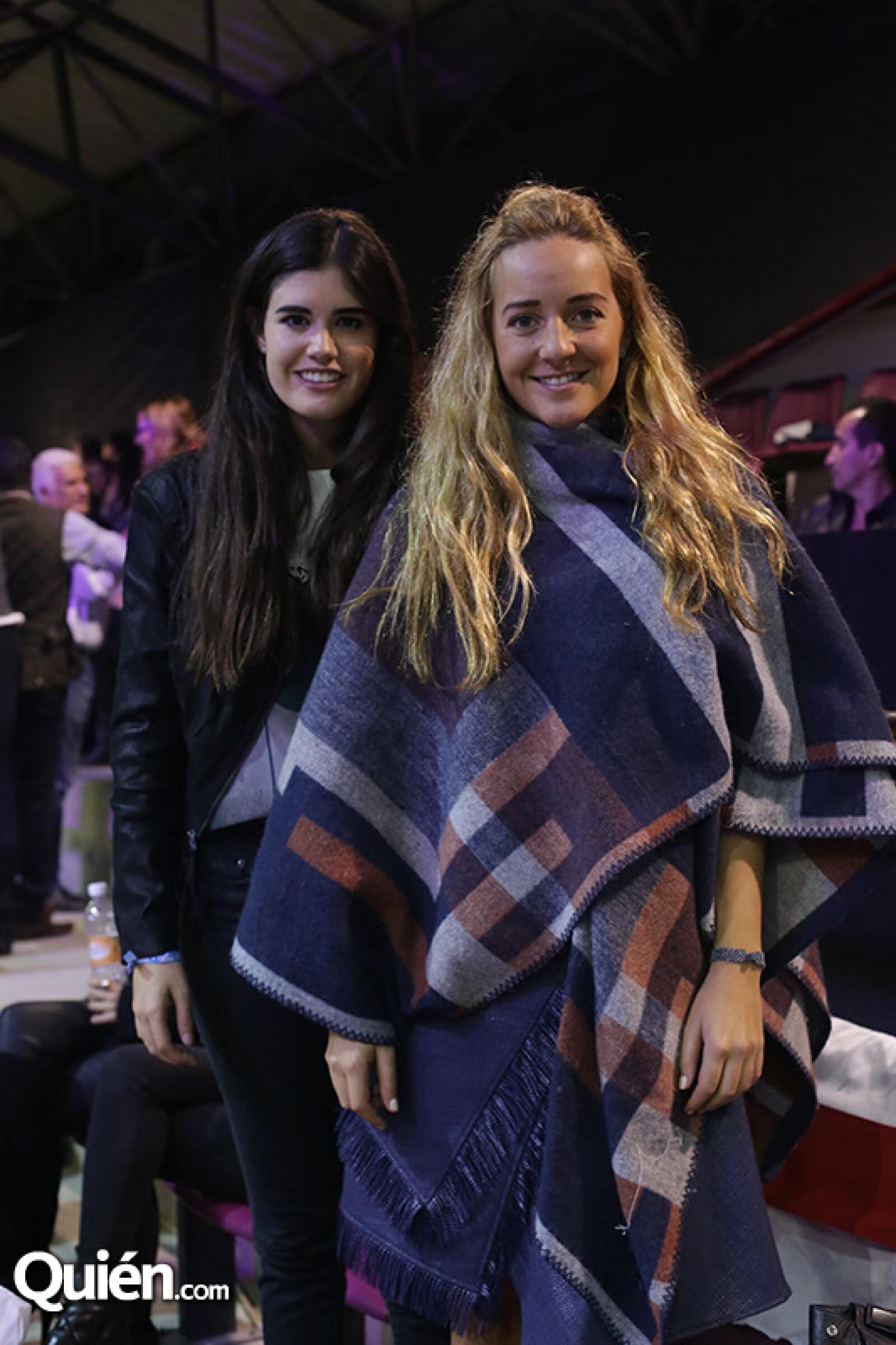 Fernanda Gómez y Claudia Reyres Heroles