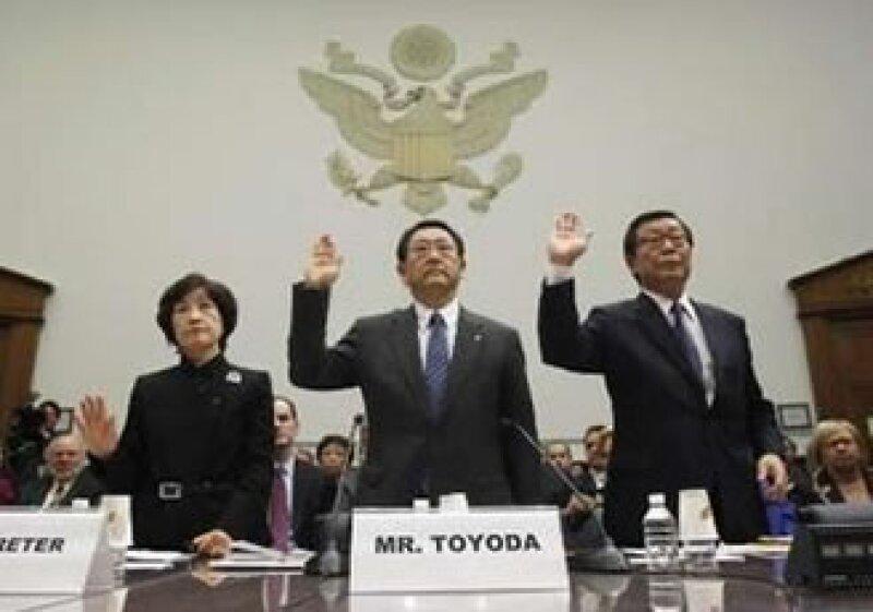 La comparecencia de Toyoda en Estados Unidos se prolongó por tres horas. (Foto: Reuters)