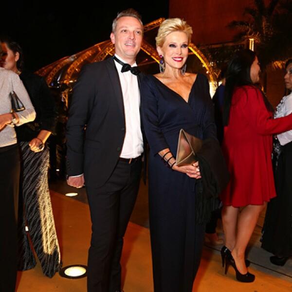 Lionel Riou y Raquel Bessudo
