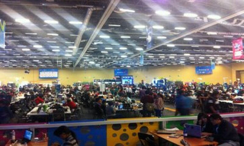 La próxima edición del Campus Party prevé aumentar su capacidad a 15,000 campuseros. (Foto: Gabriela Chávez)