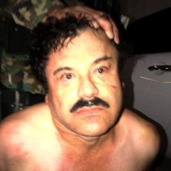 Una fuente estadounidense facilitó CNN una imagen de 'El Chapo' Guzmán tras ser capturado por fuerzas federales en Mazatlán