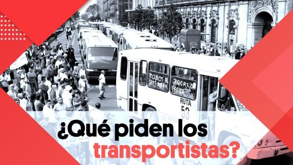 ¿Qué piden los transportistas? | #Clip