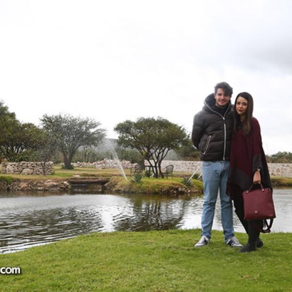 Rodrigo Noriega y Monique Dupont