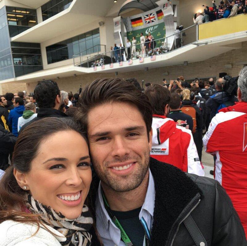 Los guapos hermanos Bracamontes en el Grand Prix de Austin.