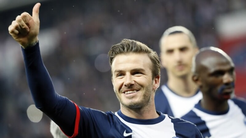 David Beckham se despide del futbol