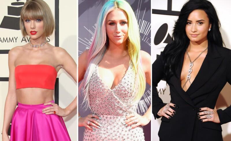 La pelea entre Taylor y Demi fue debido al problema de Kesha con su mánager.