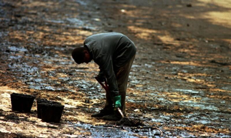 La orden judicial fue emitida tras una acción presentada por el Ministerio Público Federal tras un derrame de petróleo en el yacimiento de Frade, en la cuenca de Campos, en noviembre. (Foto: AP)