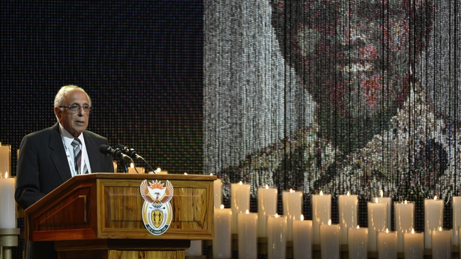 amigo cercano Nelson Mandela funeral domingo