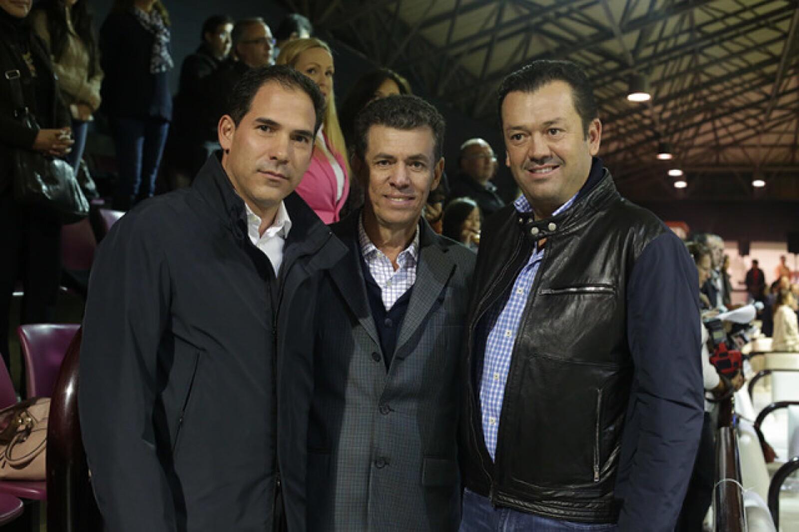 Pablo Escudero,Mauriio Guerra y Mario Oñate